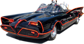 The Classic 1966 Tv Batmobile