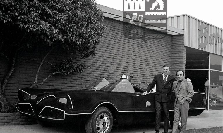 Bob Kane and George Barris