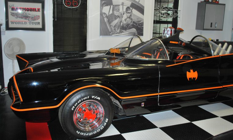 In 2010, the #2 car in its private Batcave